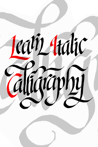 Learn Italic Calligraphy iPhone App