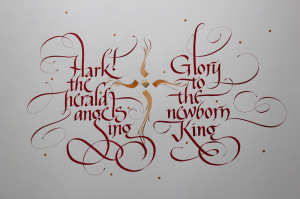 Calligraphy by Steve Husting, finished 12/27/2014